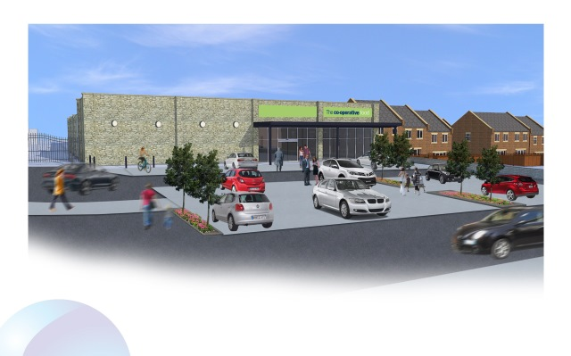 Paragon submits plans for Northants Co-op