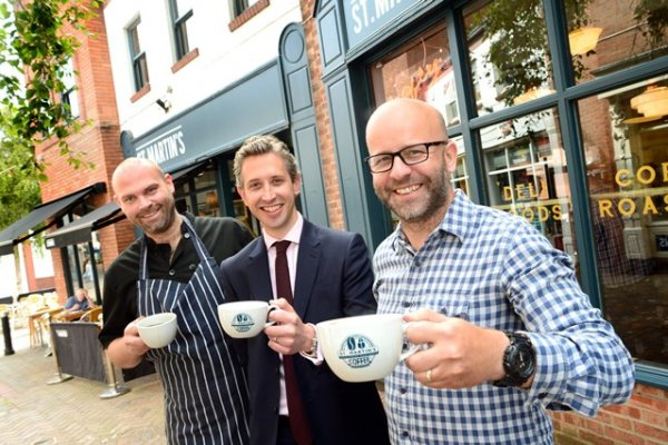 Leicester coffee firm's capital growth
