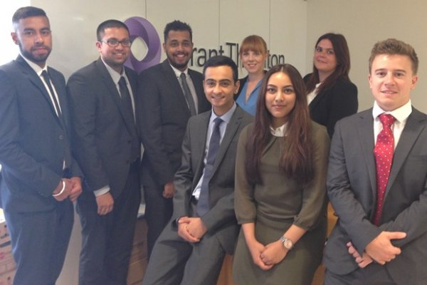Grant Thornton hire largest intake of trainees in Leicester