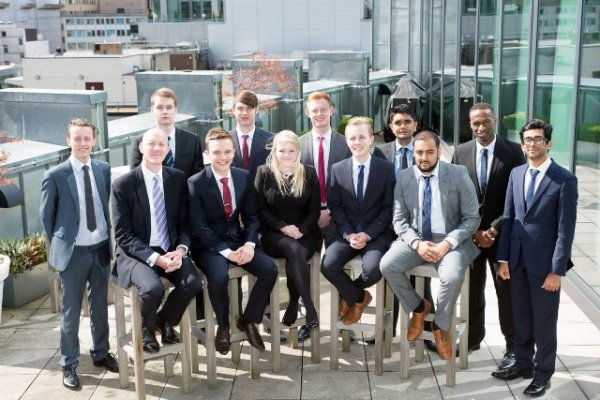Intake of new talent in Mazars' East Midlands teams