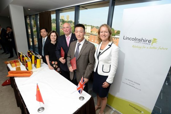 Lincolnshire forges stronger economic links with Hunan
