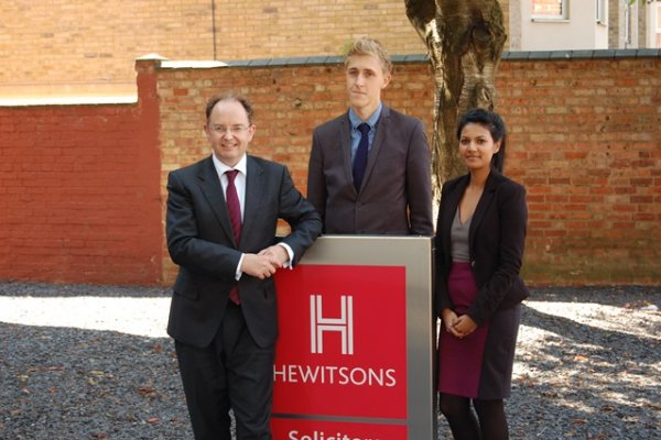 Hewitsons invests in talent with trainee appointments