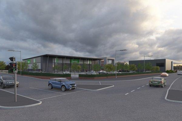 Work begins on new Dunelm store in Nottingham