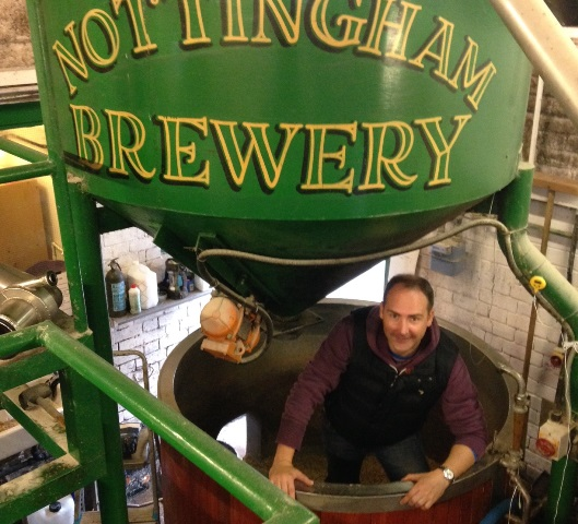 Nottingham accountant raises a glass to brewing trade