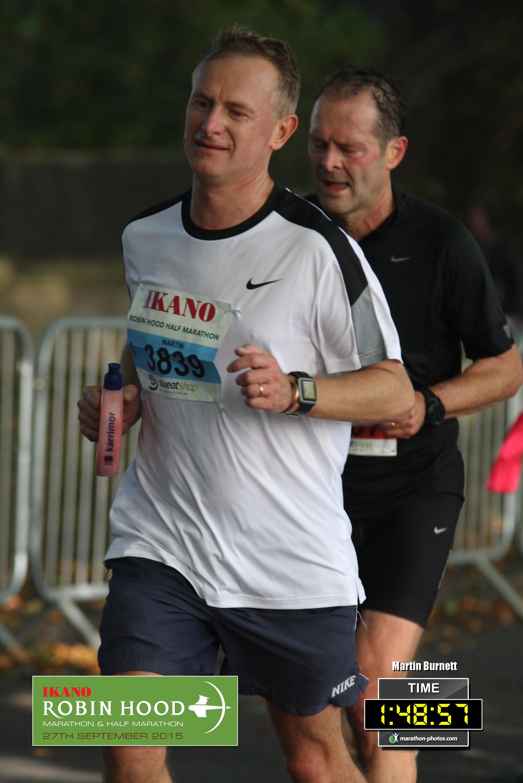 Marathon effort sees Nottingham recruitment boss raise £1,000 for cancer charity