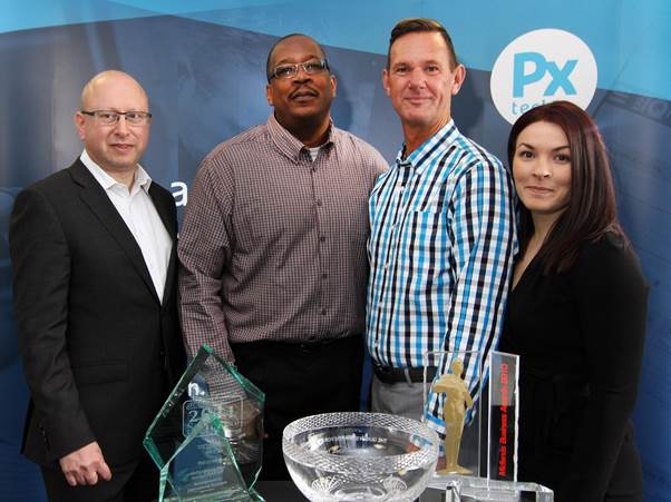 PXtech welcomes Subway visitors