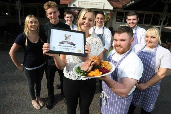 Nottingham pub scoops Best British Roast Dinner title