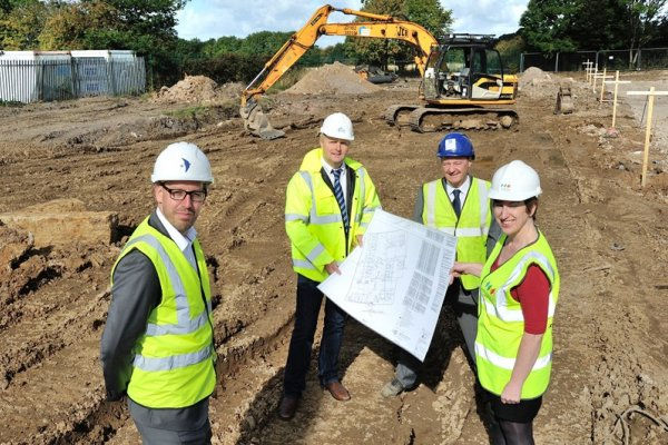Work begins on Coalville affordable housing scheme