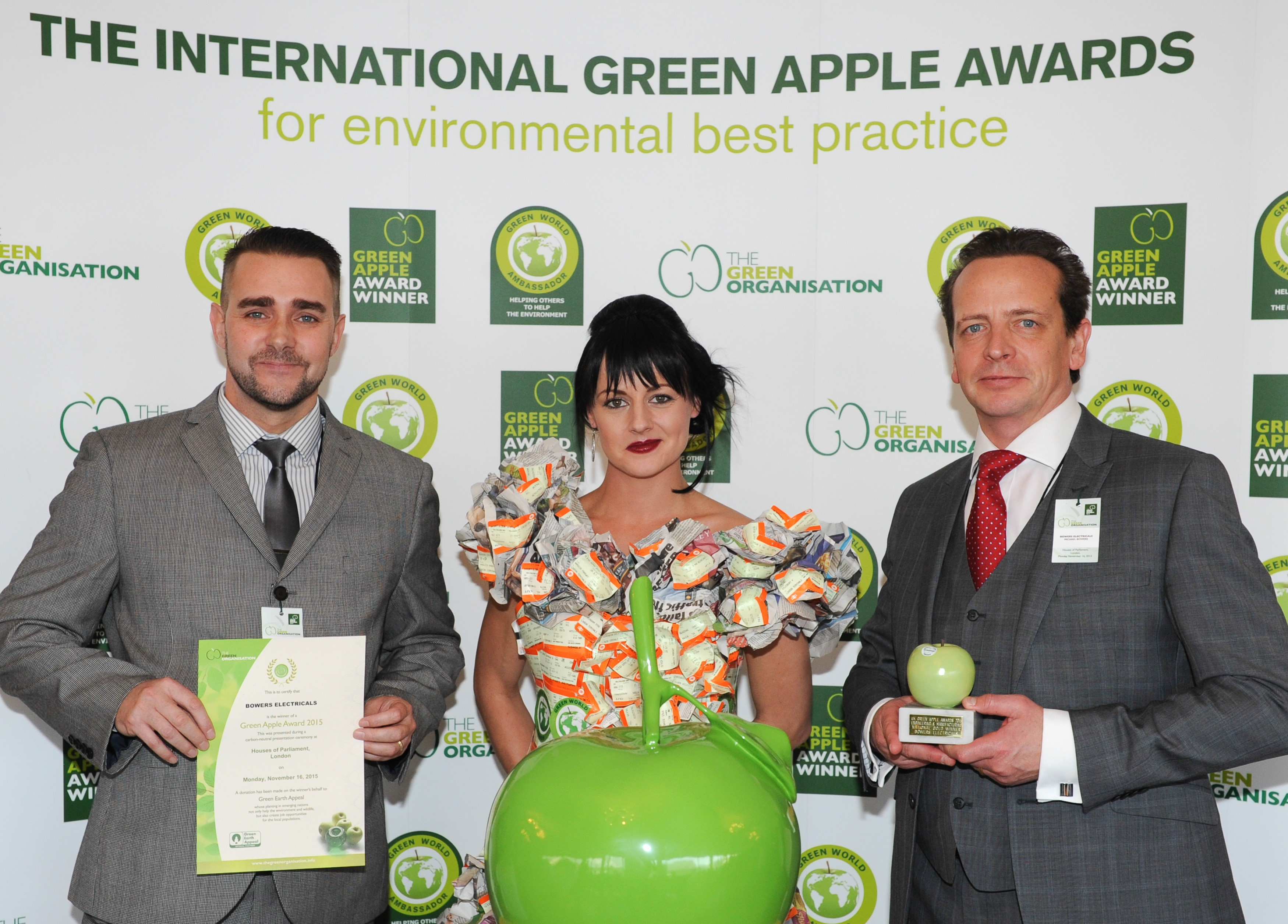 Derbyshire firm wins top environmental accolade