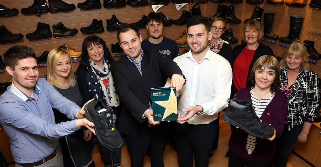 Industrial safety shoes and boots prove to be a winner for family footwear firm
