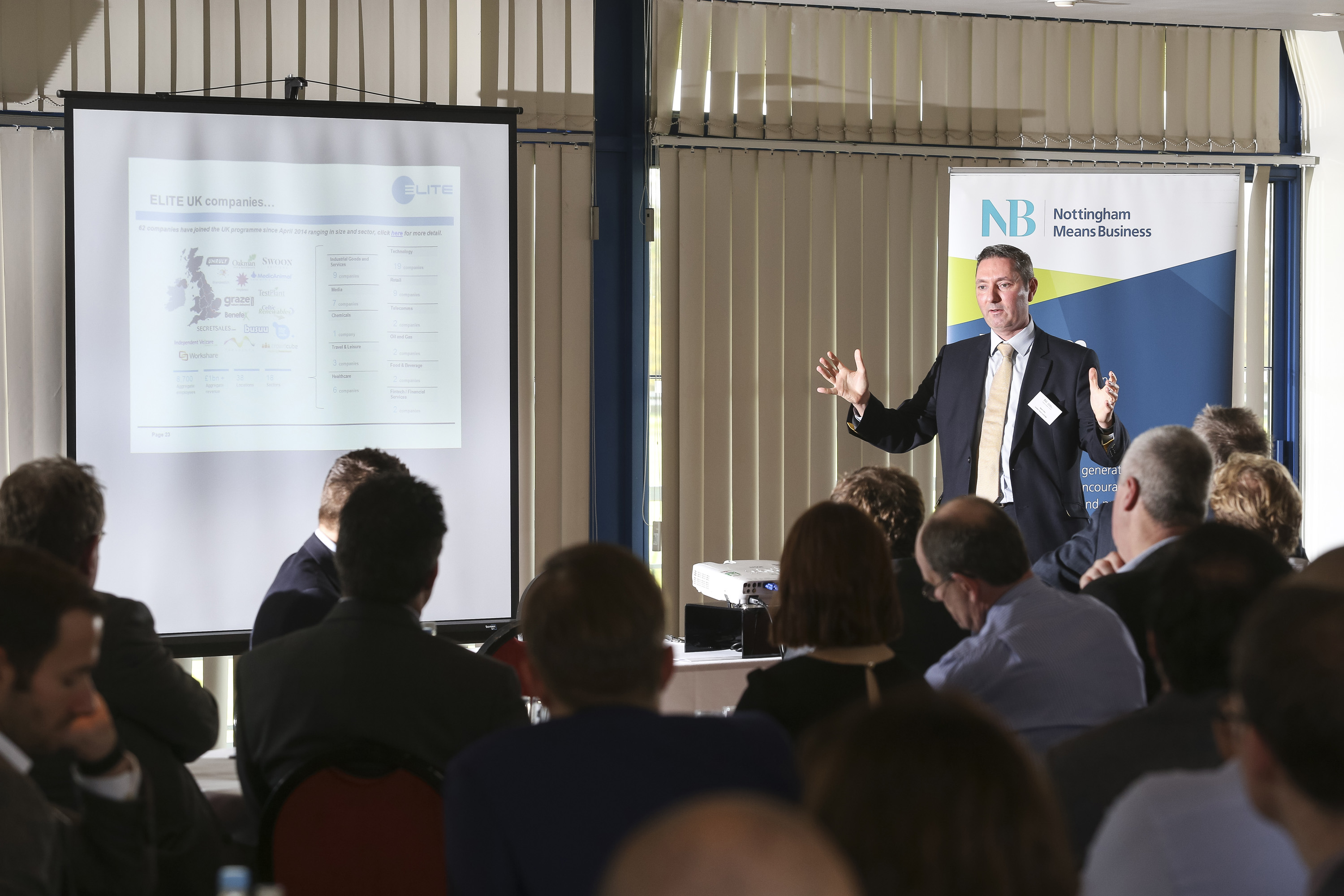 End of year business lunch shows an appetite for success