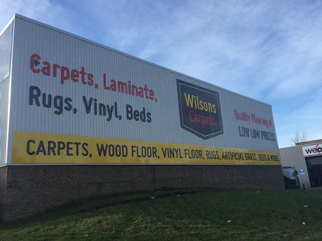 Wilsons Carpets lays foundations for success in Mansfield
