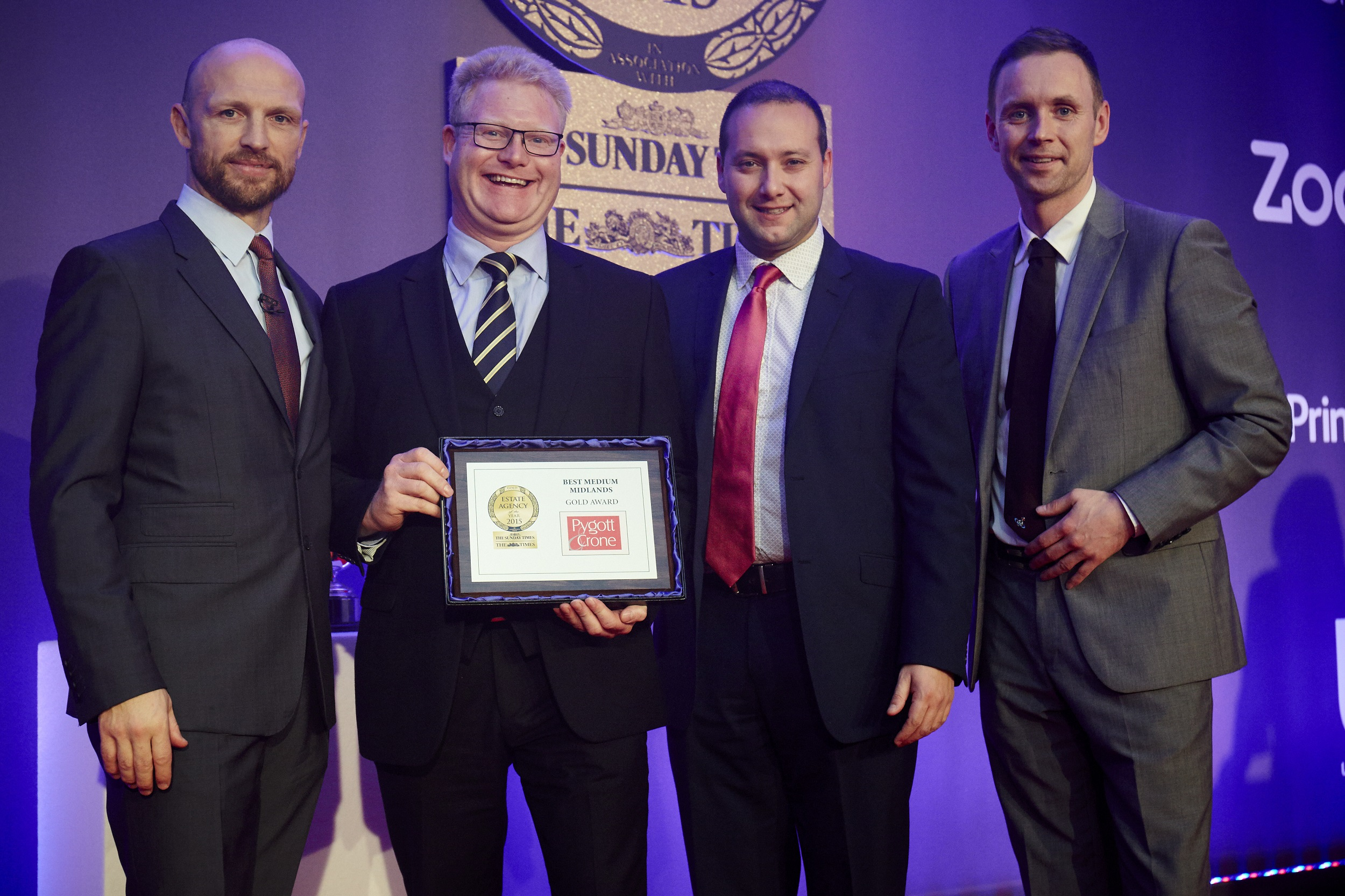 Lincolnshire estate agent scoops top prize at The Times and Sunday Times Property Awards