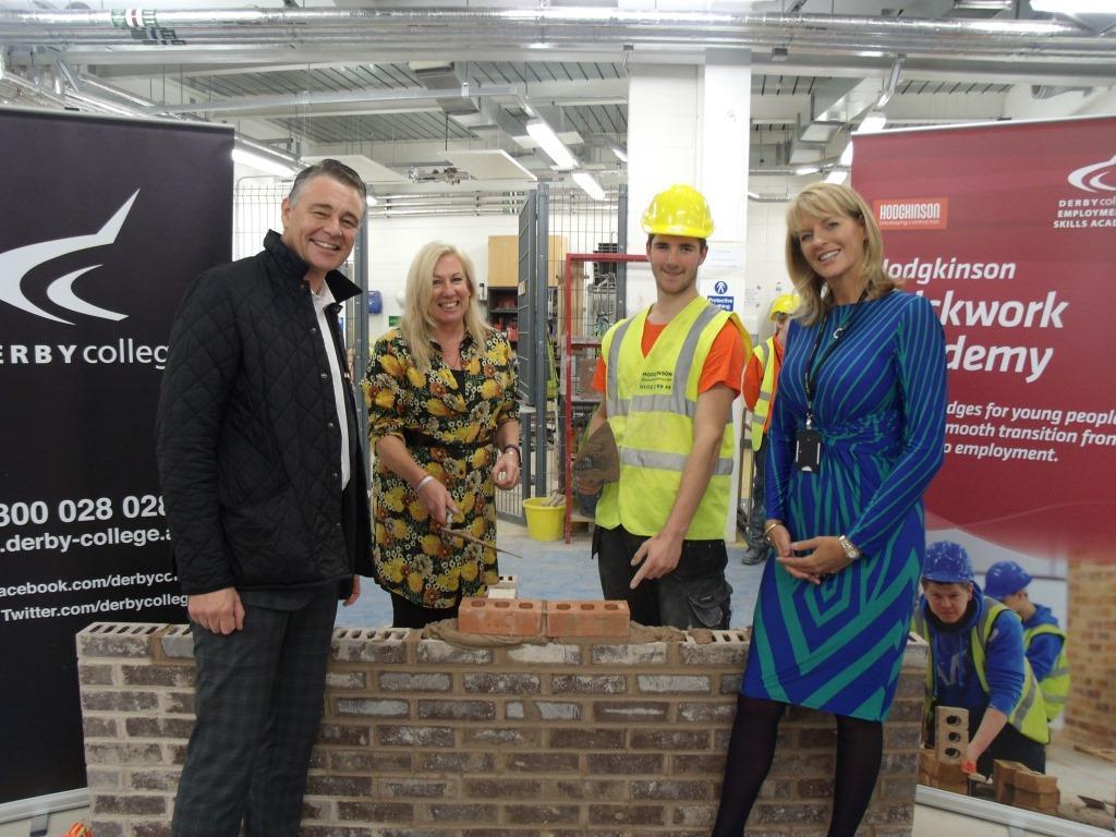 Mp Praises Derby College Employer Academy Programme East
