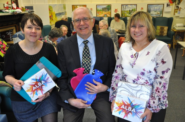 Generous Leicestershire firms thanked by Age UK