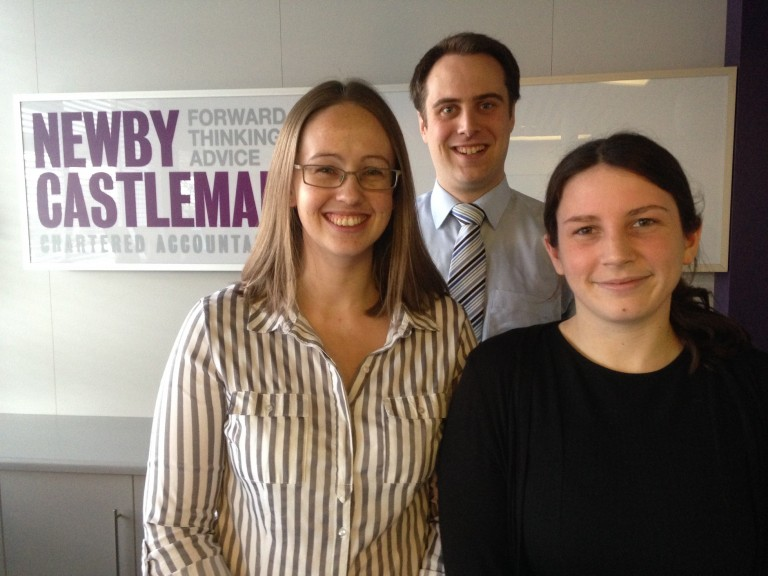 Three promotions at Newby Castleman