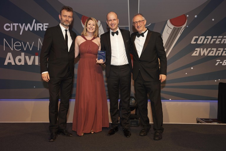 Cooper Parry Wealth wins another prestigious national award