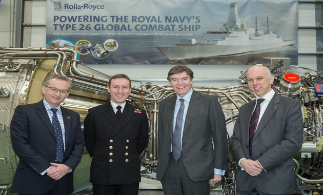 Rolls-Royce delivers first MT30 gas turbine for Royal Navy's Global Combat Ships