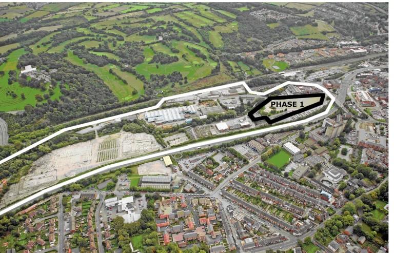 £320 million regeneration scheme to create over 300 jobs