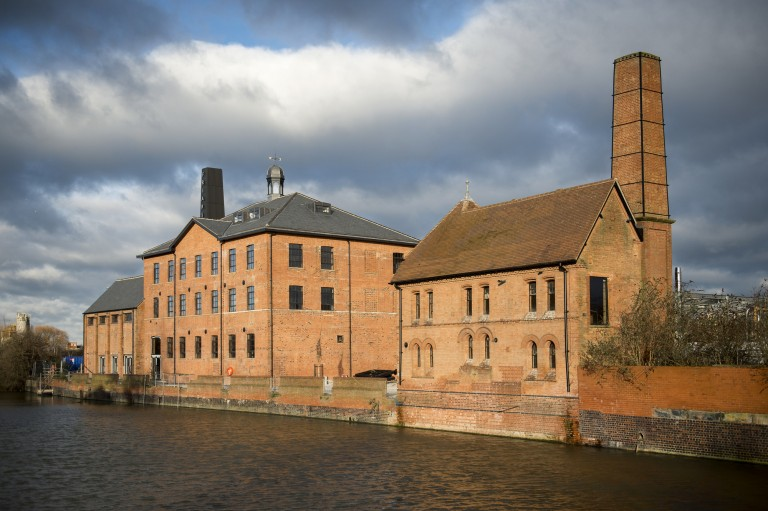 Restored mill is a beacon for Leicester's waterside regeneration