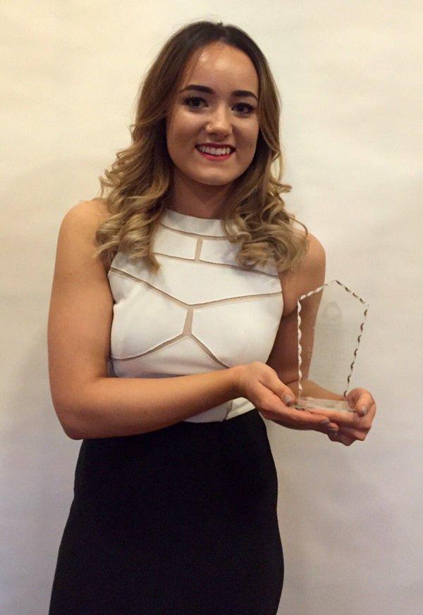 Apprentice gets gold at awards ceremony