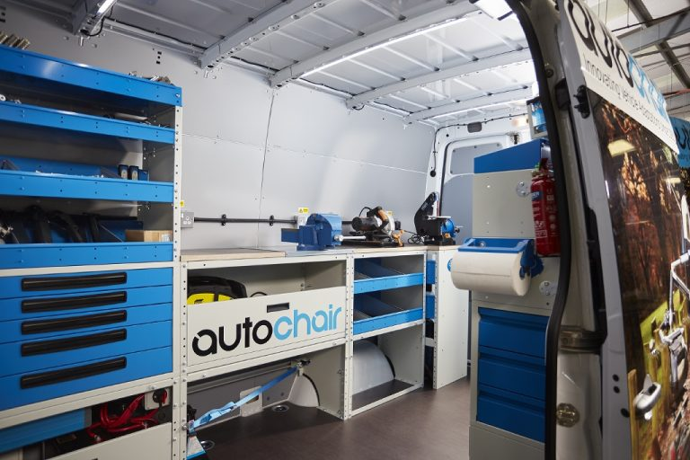 Autochair invests £200,000 to create high-tech mobile workshops