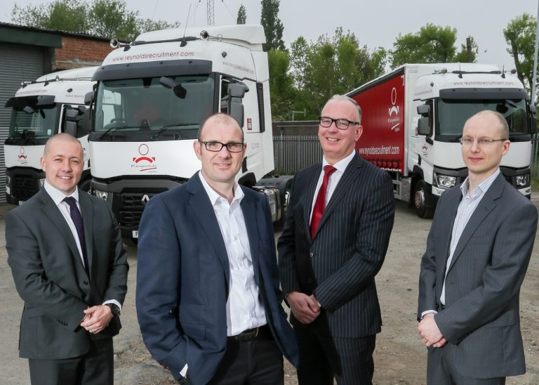 Top of the range trucks fuel business expansion at Reynolds