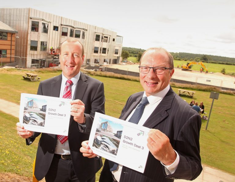 £426m investment bid by D2N2 to boost economy and jobs