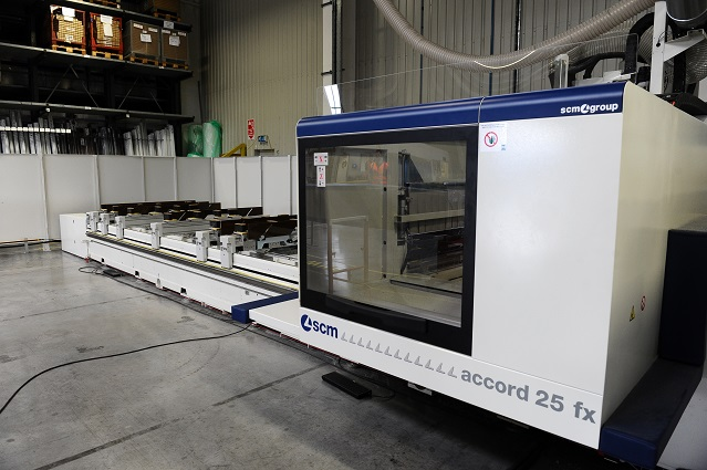 New machine boosts production at Leicestershire door manufacturer