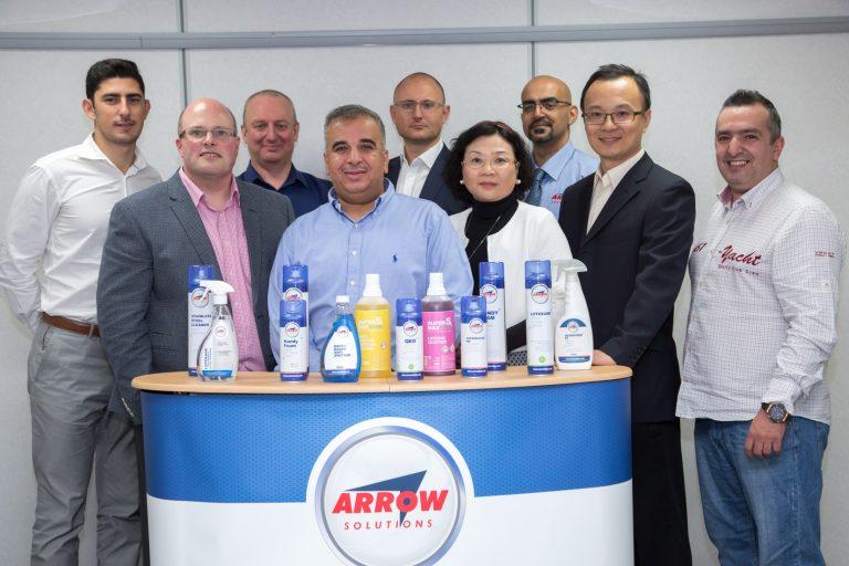 Arrow reports 25% growth in international markets