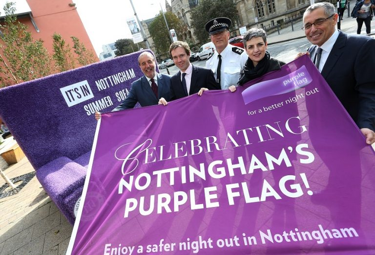 Nottingham secures Purple Flag status for seventh consecutive year
