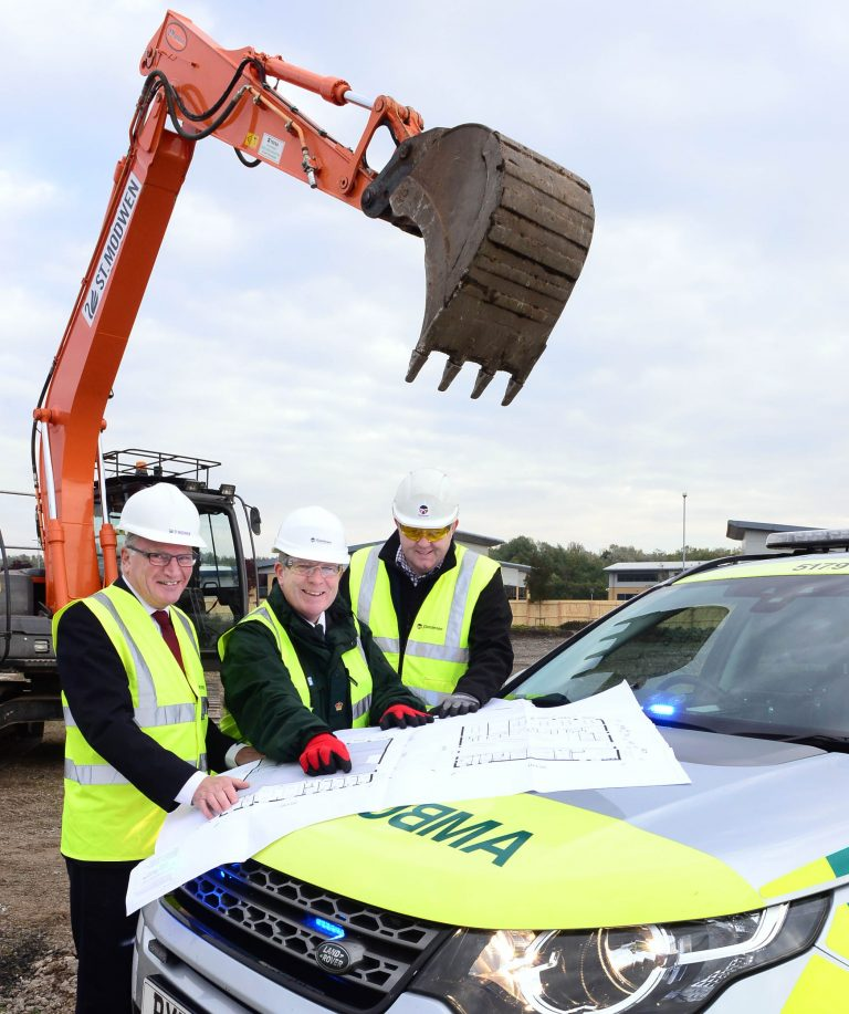 J Tomlinson appointed to build new ambulance station