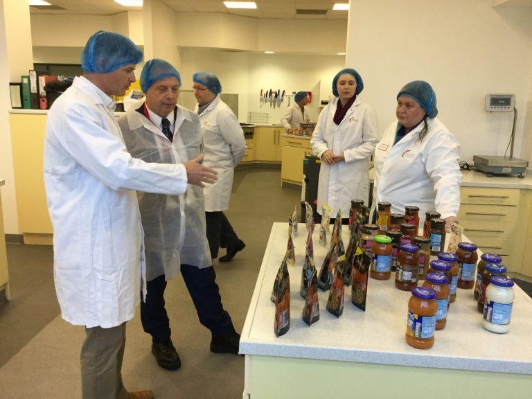 MP congratulates Premier Foods' award-winning R&D centre