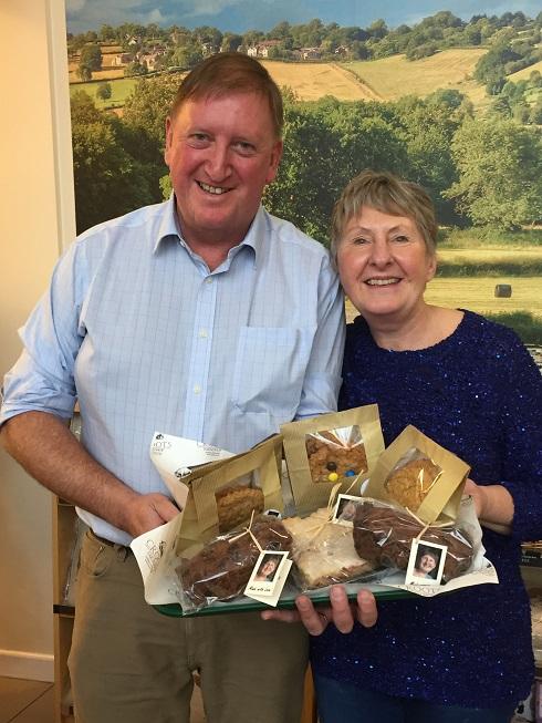 Bake Off star Val teams up with Derbyshire farm shop