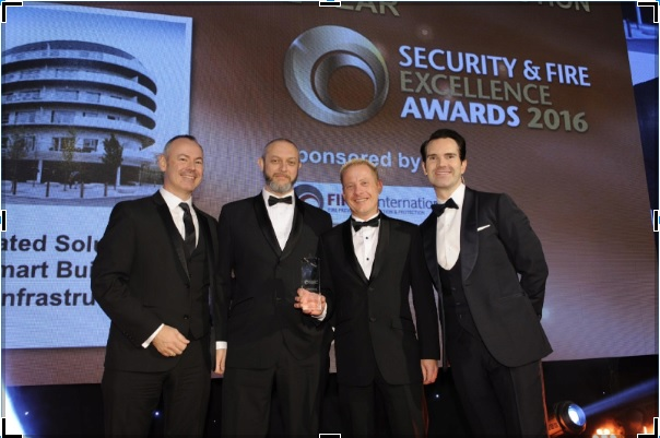 TIS secures prestigious win at Security & Fire Excellence Awards