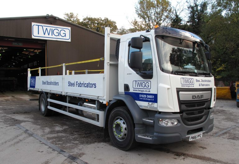 Steel firm's new truck delivers the goods