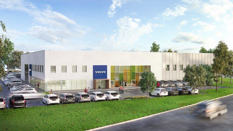 Notts firm starts work on Volvo's new £4.3m training hub