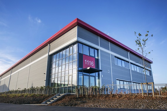 125,000 sq ft of new industrial units complete at Silverstone Park