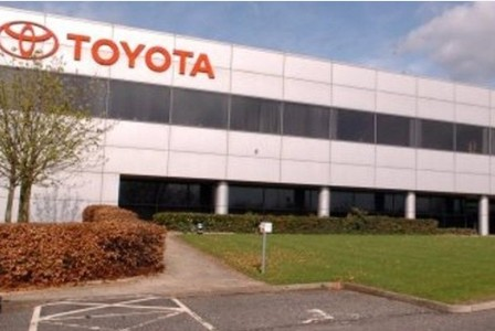 Toyota investing £240m in Derbyshire plant