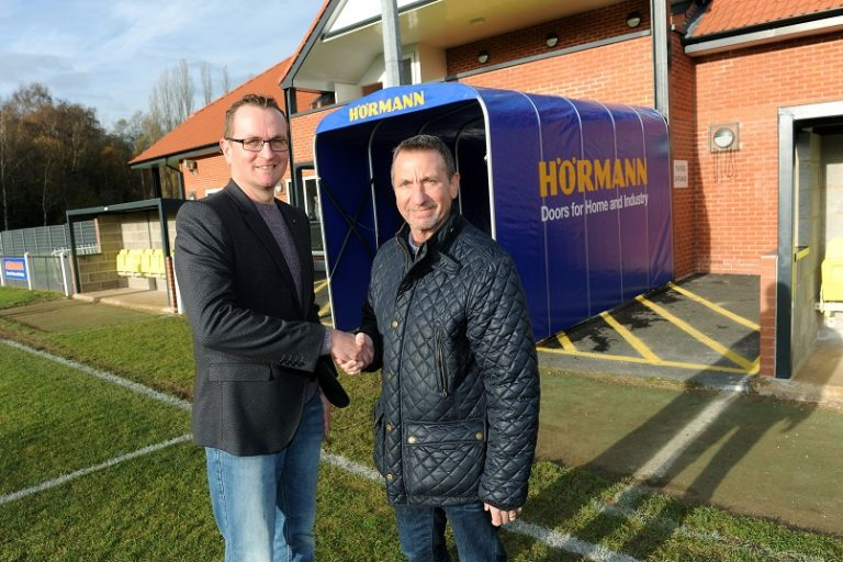 Hörmann UK announces Coalville Town FC sponsorship deal