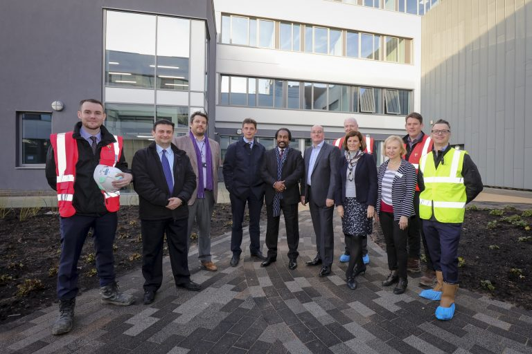 Innovative STEM building completed in Derby