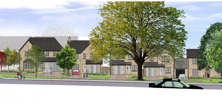 £12m housing development for Peak District town