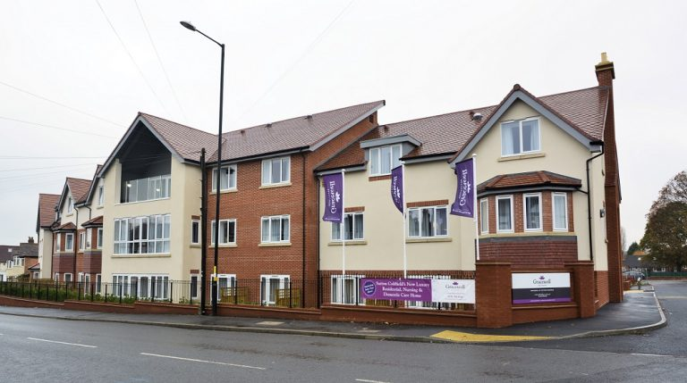Notts firm completes care and nursing home project