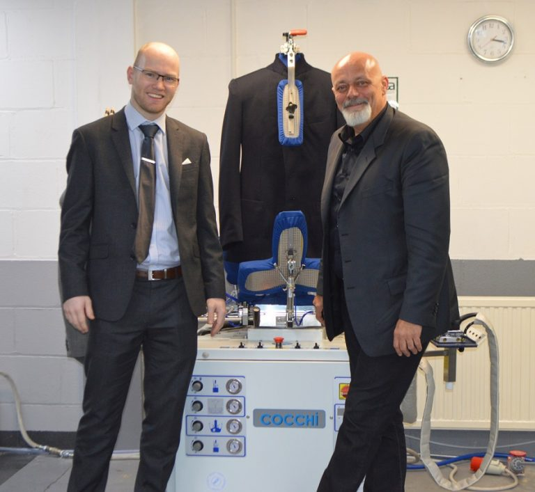 Leicester laundry specialist and machine supplier announces pair of Italian deals