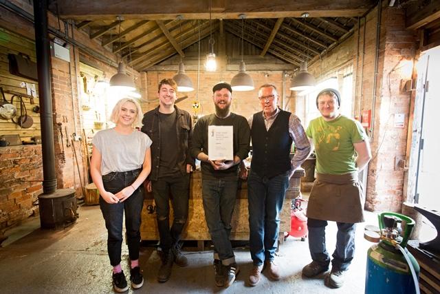 Derbyshire knife maker wins FedEx Small Business Grant