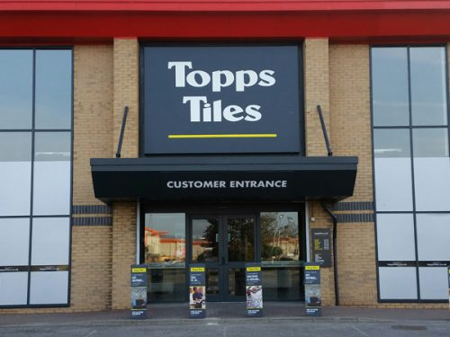 Topps Tiles Plc (TPT) Receives