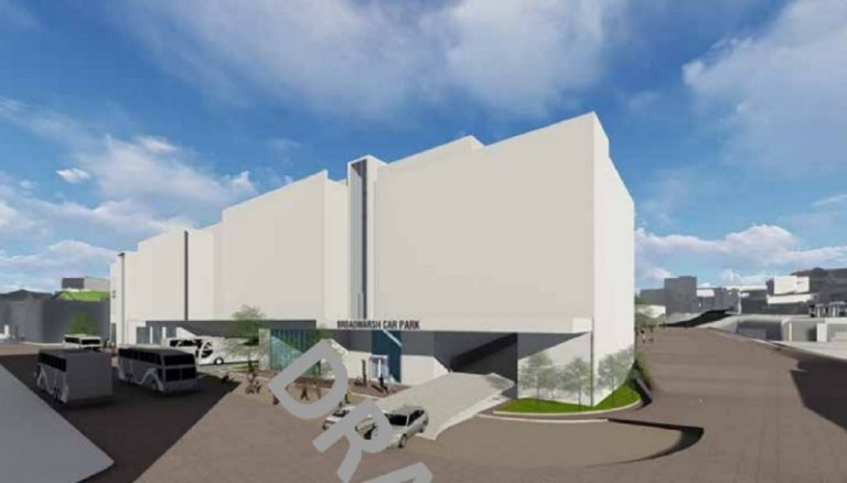 New images of proposed Broadmarsh car park and bus station