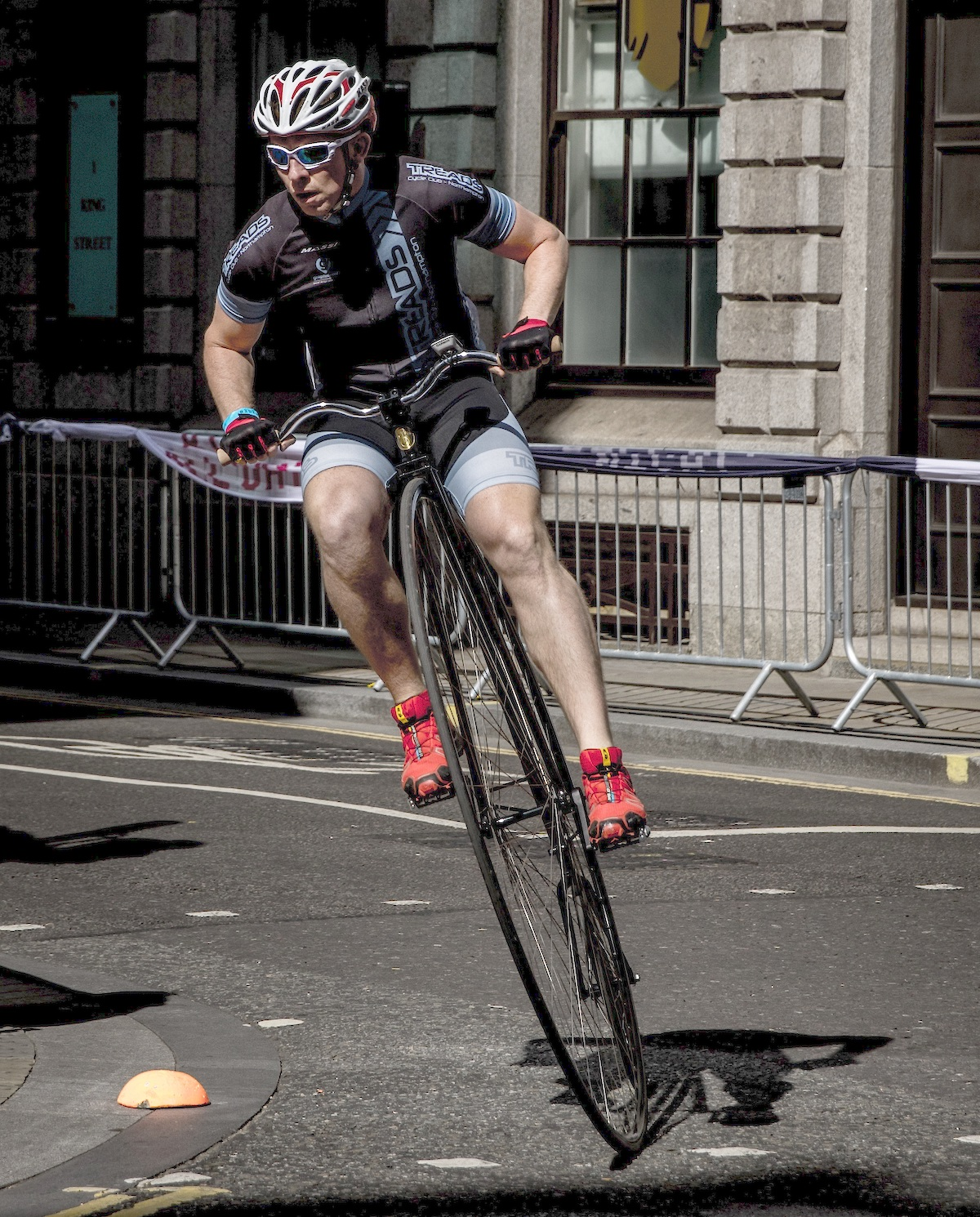 163 1 300 Raised On Penny Farthing Cycle Challenge East