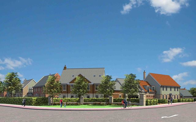 Residential led development for 1,450 homes comes to the market near Sleaford