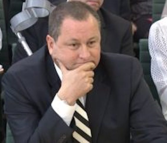 Mike Ashley: £14m claim based on 'banter'